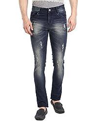 Fever Men's Jeans (211677-2-30_Dark Blue)