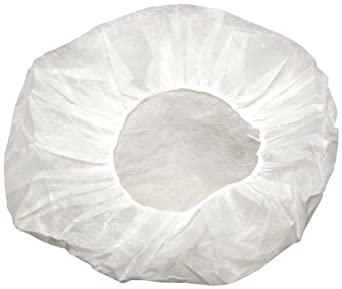 Kimberly-Clark 36900 KleenGuard A10 White Latex Free Bouffant Caps Medium (Case of 600)