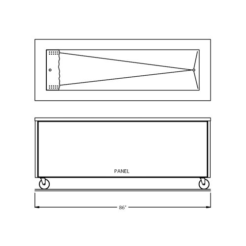 Counter Depth Refrigerator Dimensions front-259437