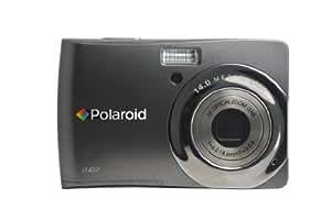 Polaroid CIA-1437TC 14MP CCD Digital Camera with 2.7-Inch LCD Display (Titanium)