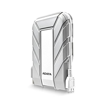 ADATA USA Waterproof/ Dustproof/ Shock-Resistant USB 3.0 External Hard Drive (AHD710A-2TU3-CWH)