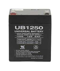 12V 4.5Ah AGM Sealed Lead Acid AGM Battery UB1245