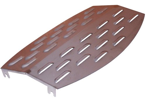 Music City Metals 97081 Stainless Steel Heat Plate Replacement for Select Great Outdoors Gas Grill Models