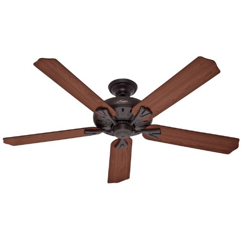 Hunter 23688 60-Inch Royal Oak New Bronze Fan with Remote