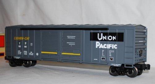 lionel-6-17232-sp-up-merger-double-door-dd-boxcar-w-auto-frames-union-pacific-by-lionel