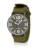 Cortefiel Reloj de cuarzo Man (VERDE OSCURO)