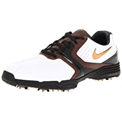 Nike Golf Mens Nike Lunar Saddle Golf Shoe by Nike Golf