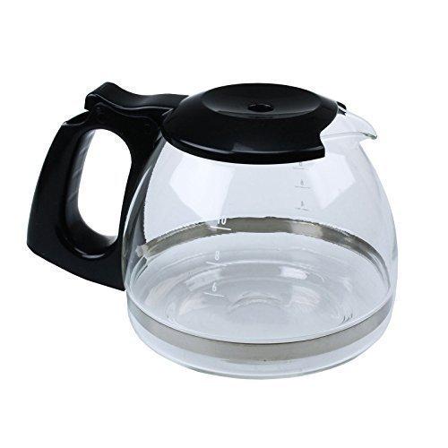 Extra Starke Kaffeemaschine Karaffe Glaskanne für Delonghi ICM2.B Maschinen SX1029