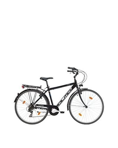 Olmo Bicicleta City Moving 7V Hombre Negro
