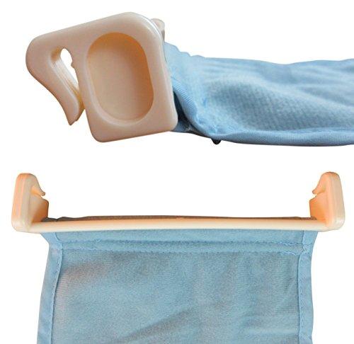 baby bathtub seat support sling net luxx karibu aojia infant bath tub hammock home garden. Black Bedroom Furniture Sets. Home Design Ideas