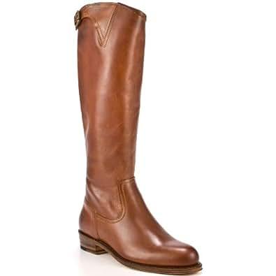: Women's Shoe Dorado Inside Zip 77578 - Cognac by Frye Shoes: Shoes