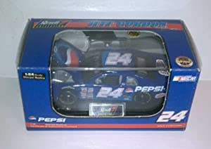 1999 Jeff Gordon #24 Pepsi 1/64 Scale Revell Collection Limited Edition With Certificate of Authenticity COA Comes in Hard Acrylic Display Box