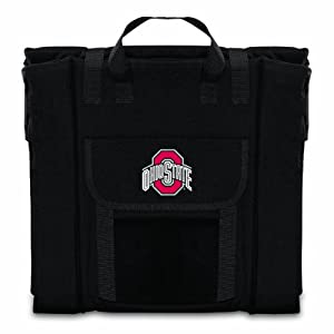 Ncaa Ohio State Buckeyes Portable Stadium Seat Black by Picnic Time