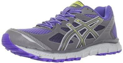 ASICS Women's GEL-Scram Running Shoe,Violet Storm/Titanium/Yellow,5 M US