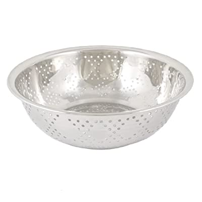 Bowl Shaped Side Bottom Drainers Fruit Rice Washing Basin