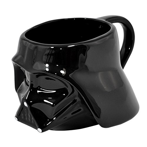 Joy Toy Darth Vader Tazza In Confezione Regalo Con Finestra, Ceramica, Multicolore, 16.50X12.50X9.50 Cm