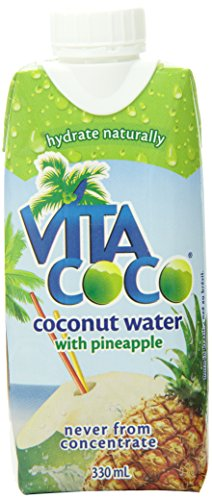 Vita Coco Coconut Water, Pineapple, 11.1 Ounce (Pack of 12) (Vitacoco Pure Coconut Water compare prices)