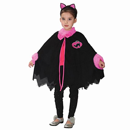 HP-LEISURE Child Witch Costume Halloween Cosplay Costume
