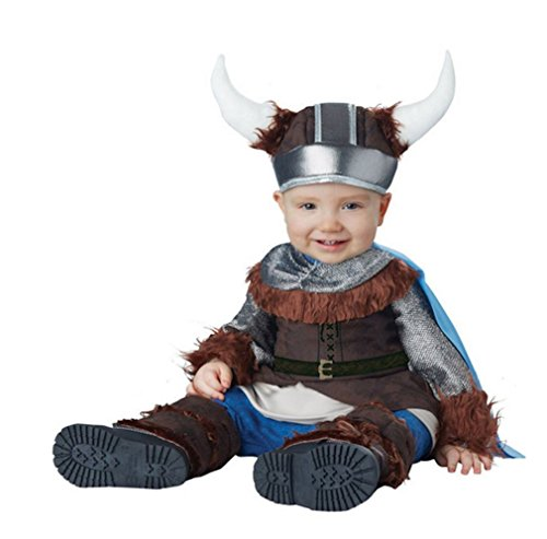 Little Cutie Infant Boys Lil Viking Costumes Ages 12 to 24 Months (Lil Viking Costume)