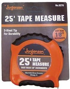 Pony 018-9270 1 in. X 25 ft. Ez Read Tape Measure