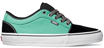 Buy Vans Mens Chukka Low Sneakers Athletic Sneakers - blackmint - by Vans