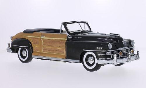 chrysler-town-country-metallic-dunkelgrau-holzoptik-1948-modellauto-fertigmodell-sun-star-118
