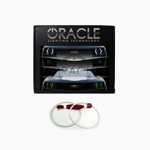 Oracle Lighting Je-Wr0713F-Gw - Jeep Wrangler Dual-Color Led Halo Fog Light Kit - Green & White