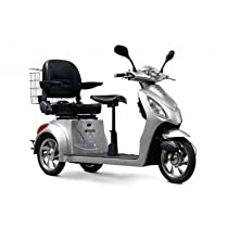 Electric Mobility Scooter Color: Silver