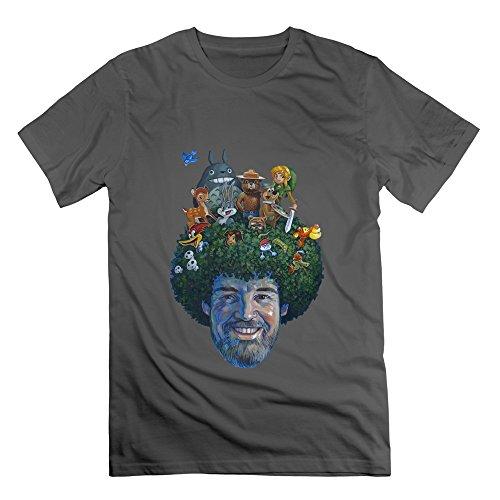 junny-mens-happy-little-trees-art-style-100-cotton-t-shirts-deepheather-s