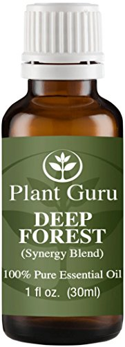 Deep Forest Synergy Essential Oil Blend 30 ml. 100% Pure, Undiluted, Therapeutic Grade. (Blend Of: Siberian Fir Needle, Silver Fir Needle, Pine Needle, Cypress, Cedarwood.