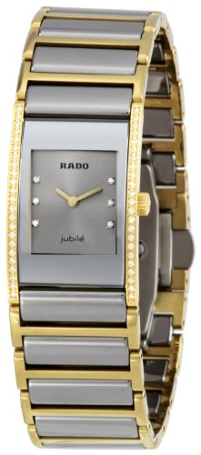 Rado Women's RADO-R20795702 Integral Silver Dial Watch