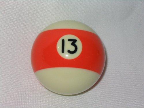 Pool Ball Shifter Knob Orange Stripe #13 (13 Ball Shift Knob compare prices)