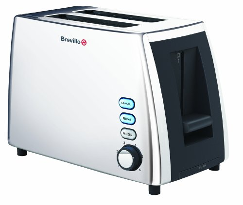 Breville VTT272 Polished Stainless Steel 2 Slice Toaster from Breville