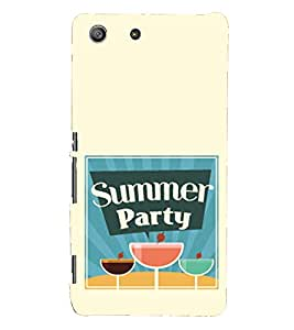 Kingcase Printed Back Case Cover For Sony Xperia M5 Dual SIM - Multicolor