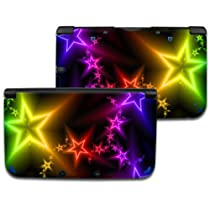 NEON STAR Nintendo 3DS XL Vinyl Skin Decal Sticker +Screen Protectors