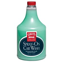 Griot's Garage 11065 Spray-On Car Wash - 35 oz.