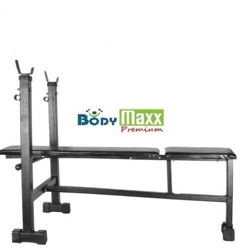 Weight Lifting Bench 3 in 1 Home Gym Exercises (Flat + Incline + Decline)
