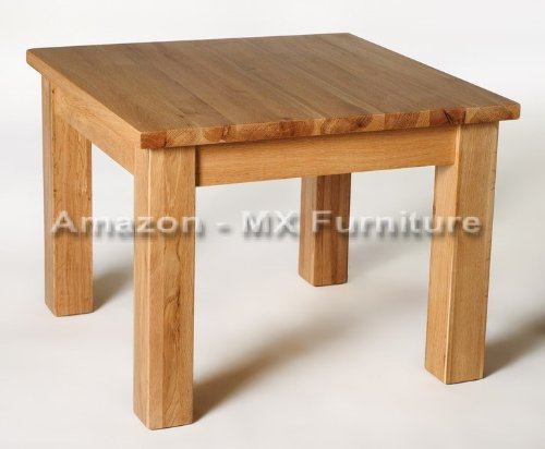 Solid Square Oak Coffee / Side / Lamp Table