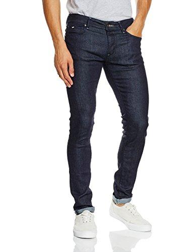 GAS Sax Zip, Jeans Uomo, Blu, 34