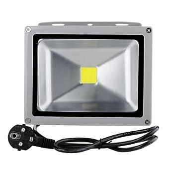 5X 10W SMD LED Fluter Flutlicht Außen Strahler Scheinwerfer Licht 220V Kaltweiß