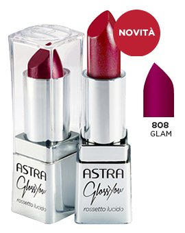 ASTRA GLOSSYOU 808 Glam Rossetto Lucido* Cosmetici
