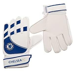 Chelsea F.C. Official Goalkeeper Gloves Youths
