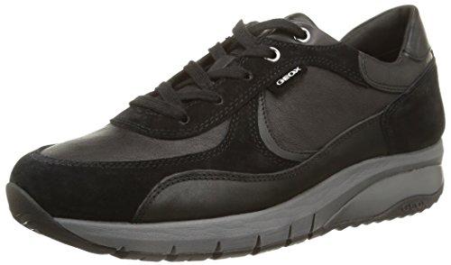 Geox Hayden E.W. B, Sneaker, Uomo, Nero (Black), 41