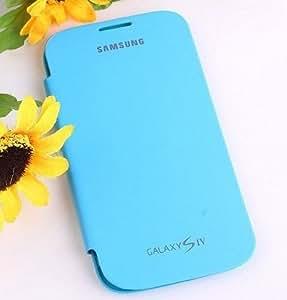 YGS Flip Cover For Samsung Galaxy S4 (I9500)_Sky Blue