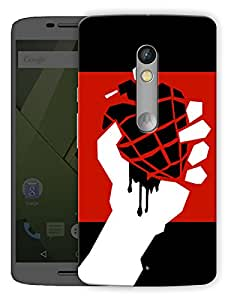"American Idiot Printed Designer Mobile Back Cover For ""Motorola Moto X Play"" By Humor Gang (3D, Matte Finish, Premium Quality, Protective Snap On Slim Hard Phone Case, Multi Color)"