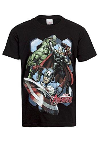 The Avengers -  T-shirt - Maniche corte  - ragazzo Black 9-10 Anni