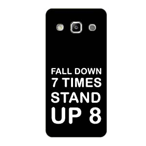 Vibhar printed case back cover for Samsung On7 StandUp