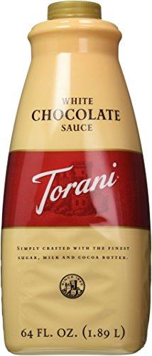 Torani White Chocolate Sauce, 64 Ounce (Chocolate Sauce Coffee compare prices)