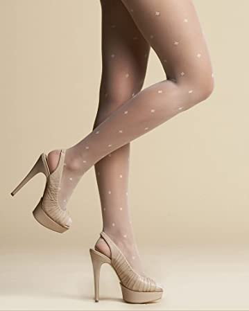 bebe Diamond Dot Tights