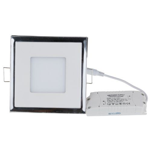 Sunsbell Square Led Acrylic Panel Light Ceiling Light Down Light Warm White Spotlight Lamp Recessed Lighting Fixture Can Be Perfect For Kitchen Lamp Living Room Lighting Bathroom Lamp (10W)